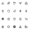 agriculture line icons 1