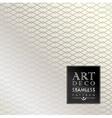 Art Deco seamless vintage wallpaper pattern vector image vector image