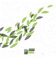 go green conceptual vector image