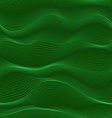 green waves seamless texture vector image
