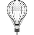 hot air ballon vector image