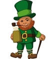 Leprechaun color vector image