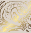 texture of marble with imitation of gold gold vector image vector image