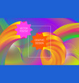 abstract background design with liquid flow vector image vector image