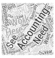 Accountancy Career The Reasons Why You Should vector image vector image