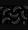 bananas seamless pattern vector image