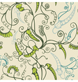 Peas seamless background vector image vector image