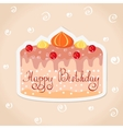 sticker cake vector image