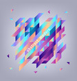 trendy vibrant gradient background template vector image vector image