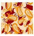 vector seamless paisley pattern vector image
