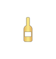 Wine computer symbol vector image vector image