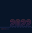 cover calendar with original neon inscription vector image vector image