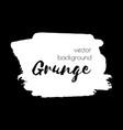 dark black grunge watercolor ink texture frame vector image vector image