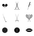 icons for sports vector image