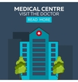 Medical centre Visit the doctor Hospital and vector image