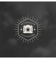 Photographer Logo Template Design Element vector image
