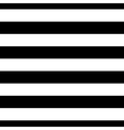 Striped seamless pattern black white wide vector image
