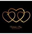 Valentine s Day Heart Symbol Love and Feelings vector image vector image