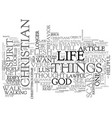 a scary thought for some text word cloud concept vector image vector image