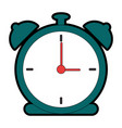 alarm time clock icon vector image