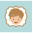 boy character design vector image vector image