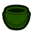 empty coin pot icon vector image vector image
