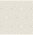 geometric abstract pattern made with lines vector image vector image