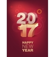 Happy New Year celebration Vertical format vector image vector image