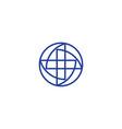 isolated unusual color logo medic logo vector image vector image