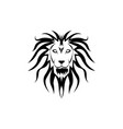 lion graphic design template isolated vector image