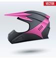 Original Motorcycle Helmet vector image vector image