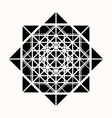 sacred geometry 0086 vector image vector image