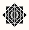 sacred geometry 0086 vector image
