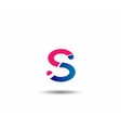 Letter S logo Icons Graphic Design vector image