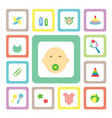 icon for baby vector image vector image