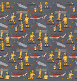 image pattern group firefighter helicopter vector image vector image