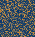 luxury eastern seamless floral pattern vector image vector image
