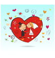 Marriage vector image vector image