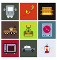 old game entertainment devices of the 90s vector image vector image