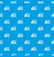 painting service pattern seamless blue vector image vector image