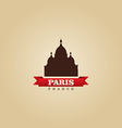 Paris France city symbol vector image vector image