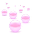 PinkPearls vector image vector image