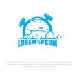 sleep well logo vector image