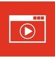 Online player icon design online player symbol vector image