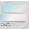 Abstract Banners With Place For Your Text vector image vector image