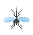Anopheles mosquito vector image vector image