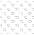 camel pattern seamless vector image vector image