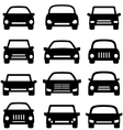 Cars and autos vector image vector image