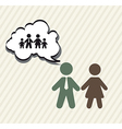 family planning vector image