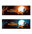halloween poster for your design for holiday vector image